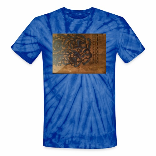 Dilfliremanspiderdoghappynessdogslikeitverymuchtha - Unisex Tie Dye T-Shirt