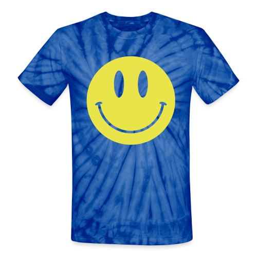 Smiley - Unisex Tie Dye T-Shirt
