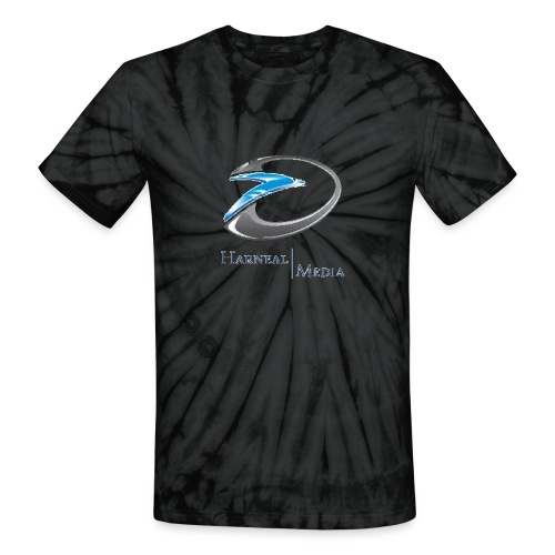 Harneal Media Logo Products - Unisex Tie Dye T-Shirt