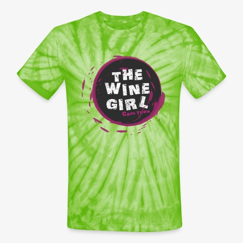 The Wine Girl - Unisex Tie Dye T-Shirt