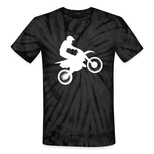 Motocross - Unisex Tie Dye T-Shirt