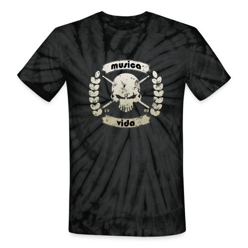 MusicaVida-Drummer - Unisex Tie Dye T-Shirt