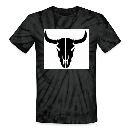Longhorn skull - Unisex Tie Dye T-Shirt