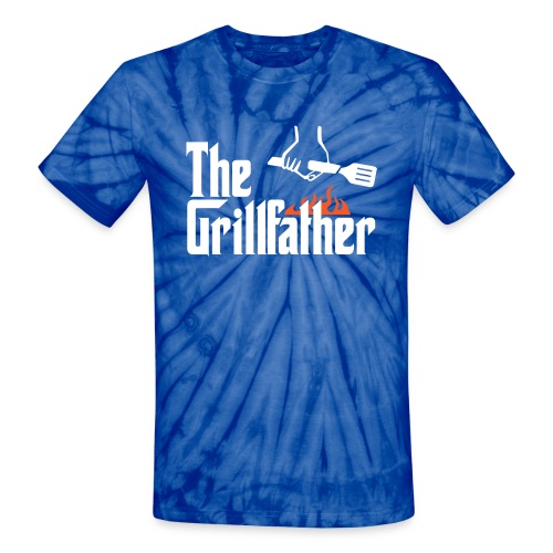 The Grillfather - Unisex Tie Dye T-Shirt