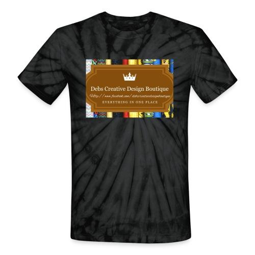 Debs Creative Design Boutique with site - Unisex Tie Dye T-Shirt