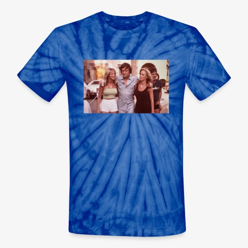 Hugh Hefner - Unisex Tie Dye T-Shirt