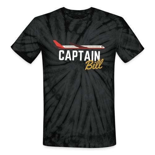 Captain Bill Avaition products - Unisex Tie Dye T-Shirt