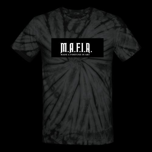 Classic Mafia Logo Black - Unisex Tie Dye T-Shirt