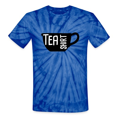 Tea Shirt Black Magic - Unisex Tie Dye T-Shirt