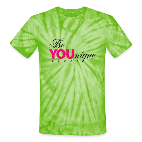 Be Unique Be You Just Be You - Unisex Tie Dye T-Shirt
