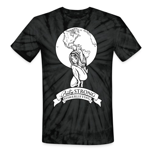 Globe 2 png - Unisex Tie Dye T-Shirt