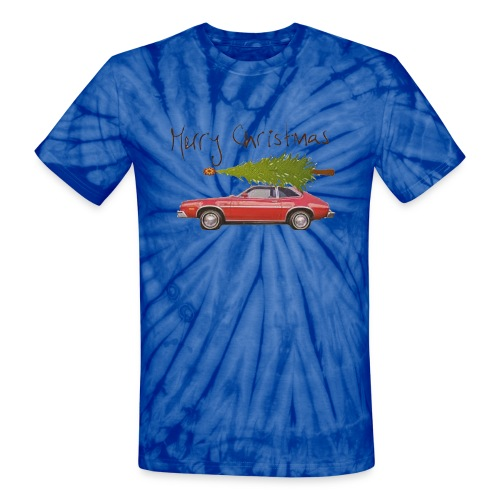 Ford Pinto Merry Christmas - Unisex Tie Dye T-Shirt