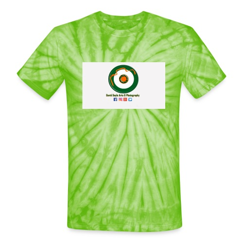 David Doyle Arts & Photography Logo - Unisex Tie Dye T-Shirt