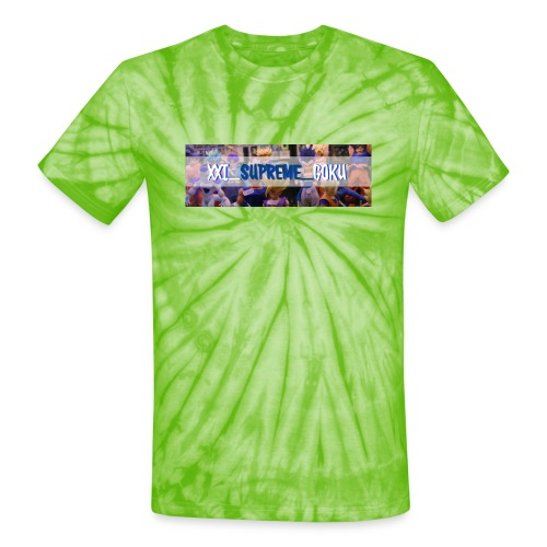 XXI SUPREME GOKU LOGO 2 - Unisex Tie Dye T-Shirt