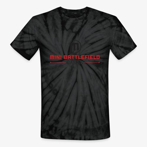 Mini Battlefield Games Logo - Unisex Tie Dye T-Shirt