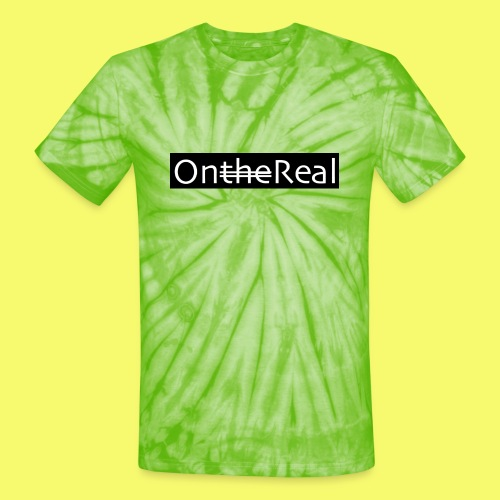 OntheReal coal - Unisex Tie Dye T-Shirt