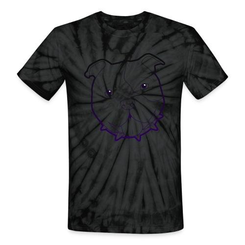 Pit Tee Outline alt. - Unisex Tie Dye T-Shirt