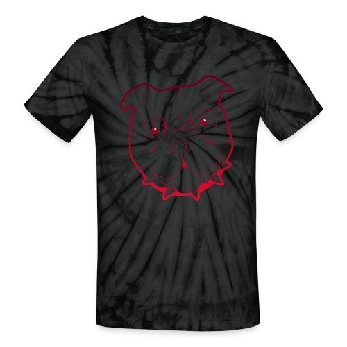Pit Tee Outline - Unisex Tie Dye T-Shirt
