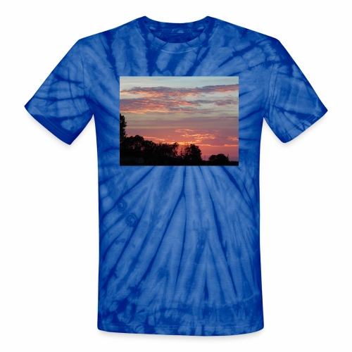 Sunset of Pastels - Unisex Tie Dye T-Shirt