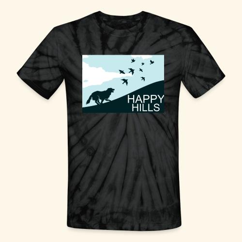 Happy hills - Unisex Tie Dye T-Shirt