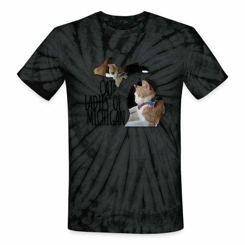 Cat Ladies of Michigan - Unisex Tie Dye T-Shirt