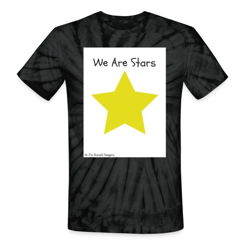 Hi I'm Ronald Seegers Collection-We Are Stars - Unisex Tie Dye T-Shirt
