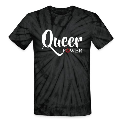 Queer Power T-Shirt 04 - Unisex Tie Dye T-Shirt