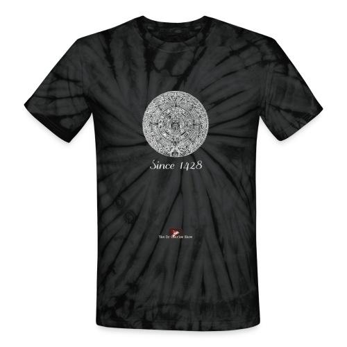 Since 1428 Aztec Design! - Unisex Tie Dye T-Shirt