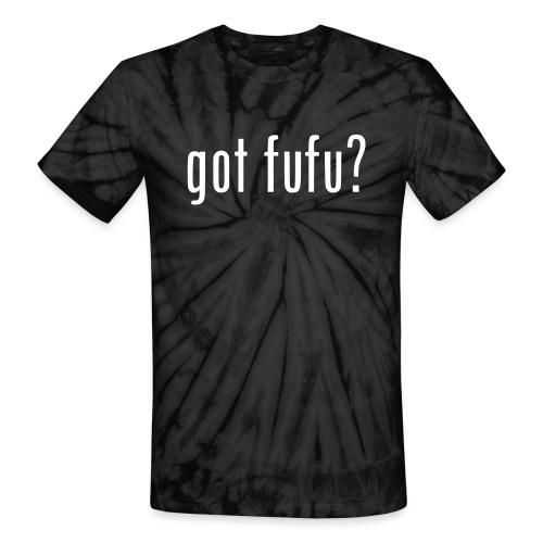 gotfufu-black - Unisex Tie Dye T-Shirt