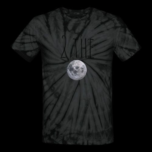 2themoon Tee - Unisex Tie Dye T-Shirt