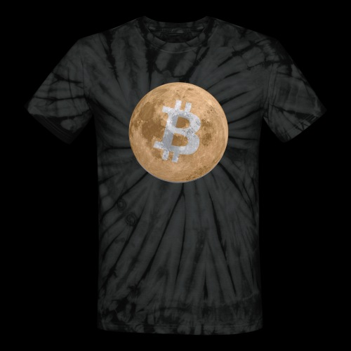 Bit moon Tee - Unisex Tie Dye T-Shirt