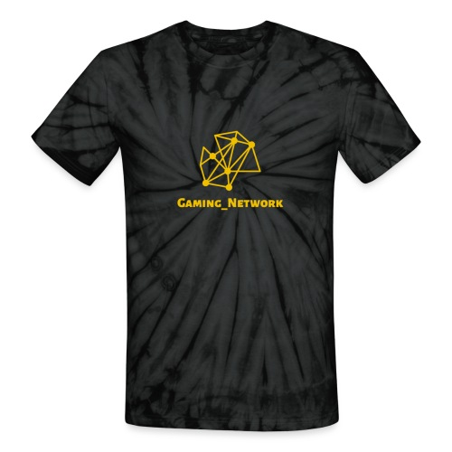 gaming network gold - Unisex Tie Dye T-Shirt