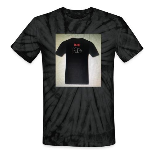 Mr and Mrs t-shirt - Unisex Tie Dye T-Shirt