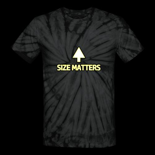 Size Matters - Girls - Unisex Tie Dye T-Shirt