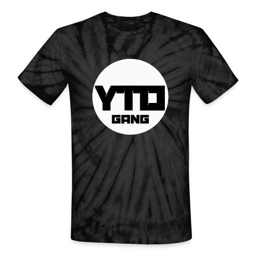 ytd logo - Unisex Tie Dye T-Shirt