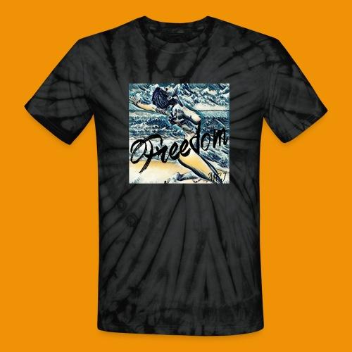 Freedom - Unisex Tie Dye T-Shirt