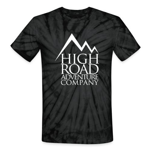 High Road Adventure Company Logo - Unisex Tie Dye T-Shirt