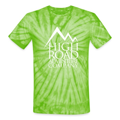 High Road Adventure Company Logo - Unisex Tie Dye T-Shirt