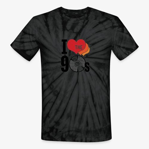 I love the 90s - Unisex Tie Dye T-Shirt