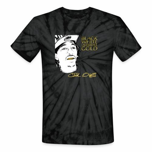 Carl Lovett Lauderdale Gold - Unisex Tie Dye T-Shirt