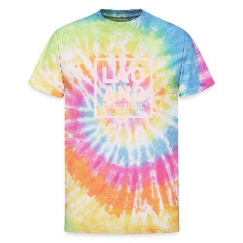 LAO AND BEAUTIFUL pink - Unisex Tie Dye T-Shirt