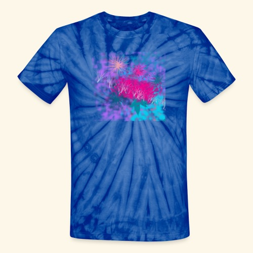 Abstract - Unisex Tie Dye T-Shirt