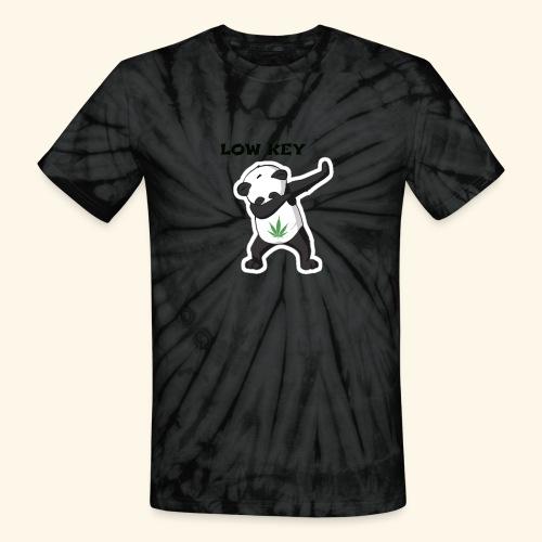 LOW KEY DAB BEAR - Unisex Tie Dye T-Shirt