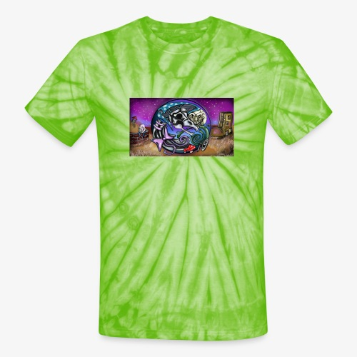 Mother CreepyPasta Land - Unisex Tie Dye T-Shirt