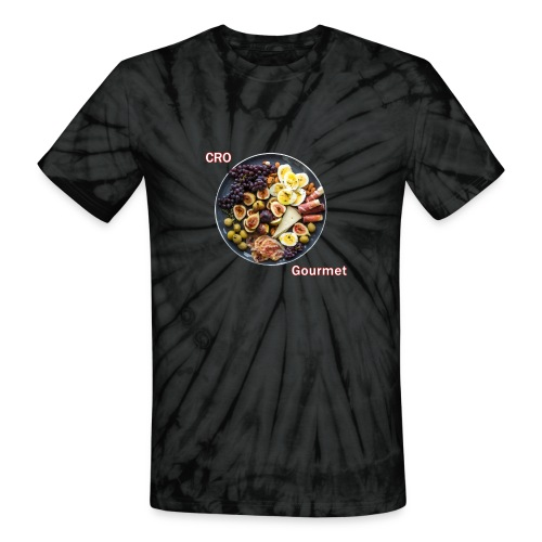 Croatian Gourmet - Unisex Tie Dye T-Shirt