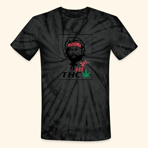 THC MEN - THC SHIRT - FUNNY - Unisex Tie Dye T-Shirt