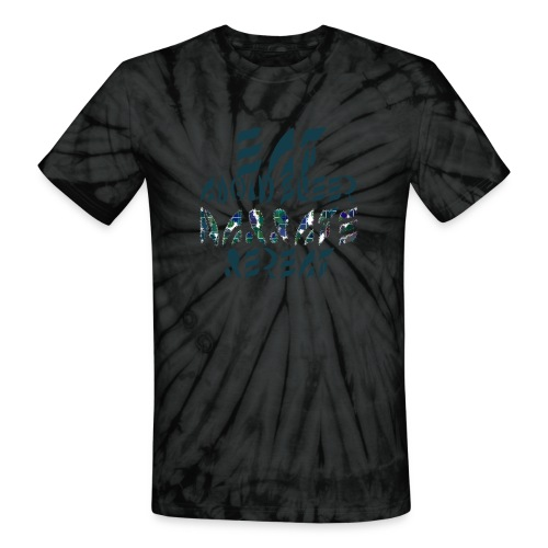 Eat Sleep Narrate Repeat - Unisex Tie Dye T-Shirt