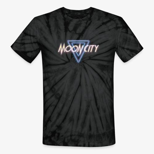 Moon City Logo - Unisex Tie Dye T-Shirt