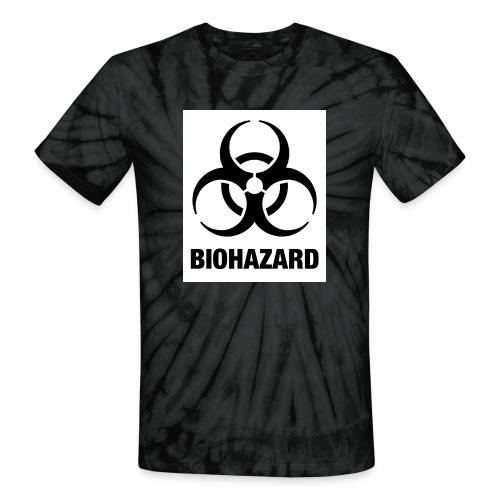 Biohazard - Unisex Tie Dye T-Shirt