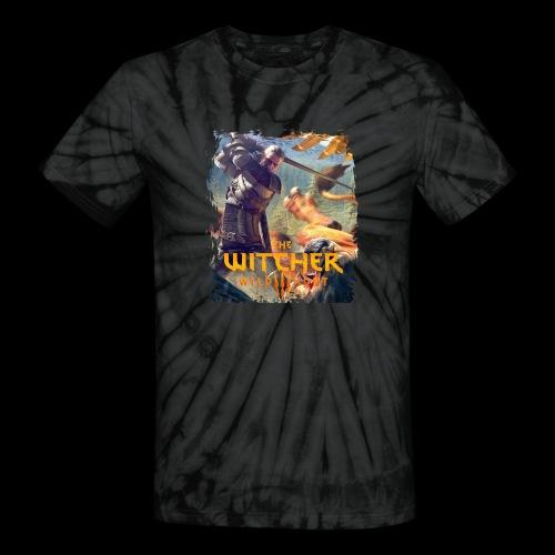 The Witcher 3 - Griffin - Unisex Tie Dye T-Shirt